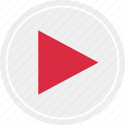 media, online, play, video, web icon