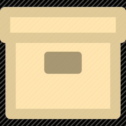 archive, box, document, storage icon