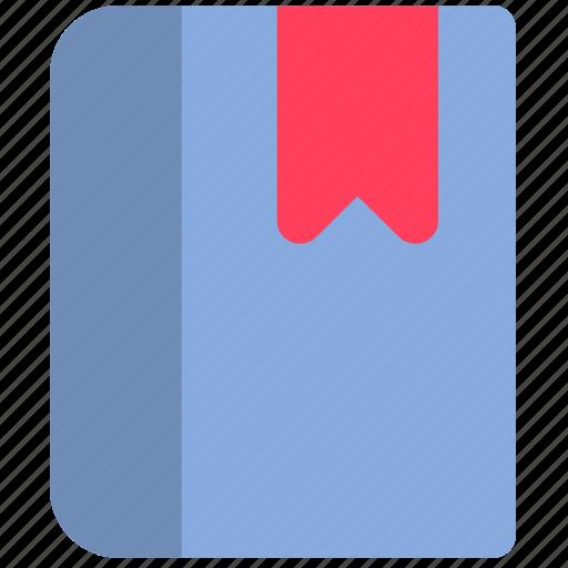 book, bookmark, content icon