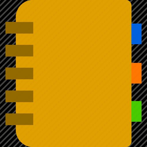 bookmark, content, document icon