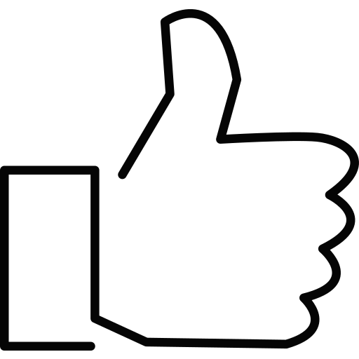 facebook, fb, like, social media, thumbsup icon