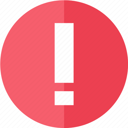alert, attention, control, media, multimedia, warning icon
