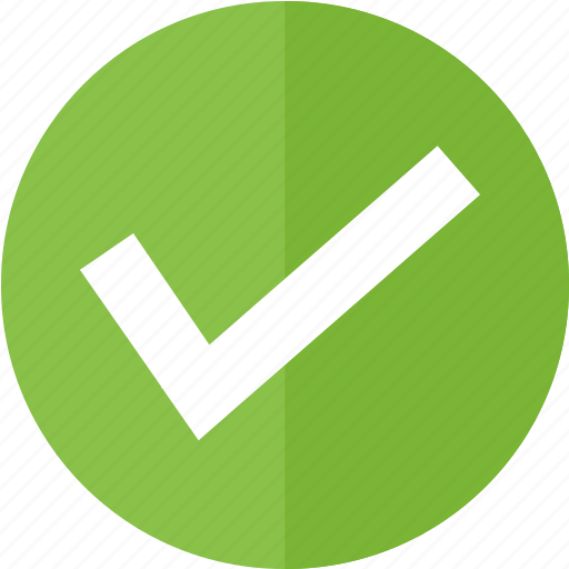 check, control, green, media, multimedia, ok, yes icon