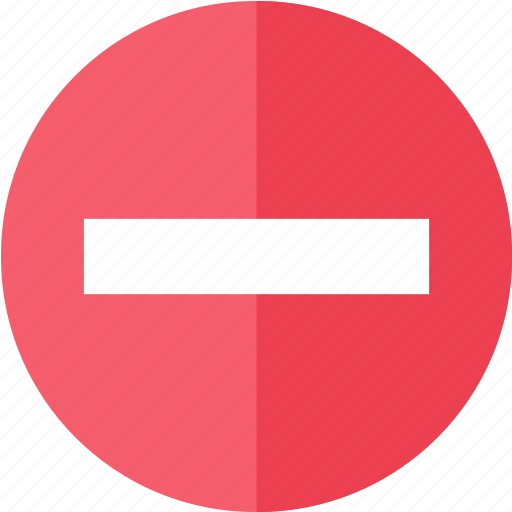 control, media, multimedia, red, stop, video icon