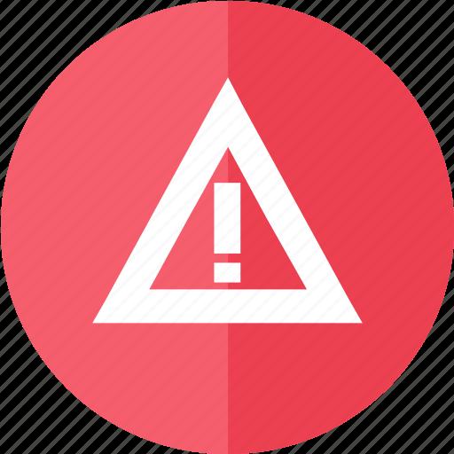alert, media, multimedia, red, remember, video, warning icon