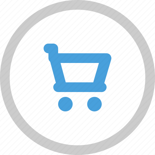cart, online cart, online store icon