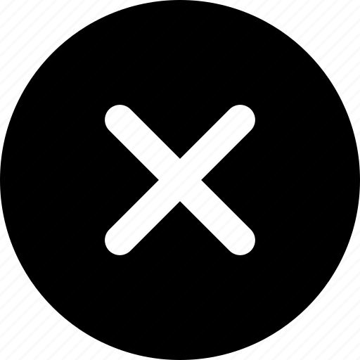 cancel, circle icon