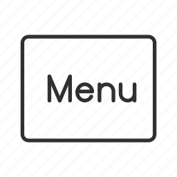 home menu, main menu, main menu button, menu, menu button, menu icon, restaurant icon