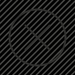 close, close button, close icon, delete, delete button, x, x button icon