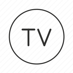 entertainment, television, television button, television icon, tv, tv button, tv icon icon