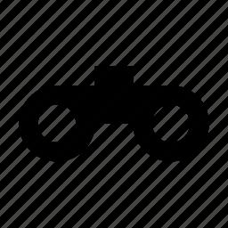 binocular, binocular tool, magnifying, spyglass, spying icon