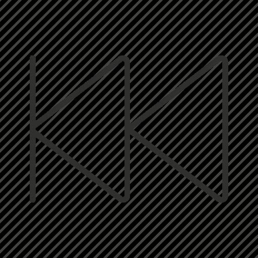 remote, rewind, rewind button, rewind icon, rewind logo icon