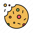 bakery, candy, cookie, cooking, food, kitchen, sweet icon