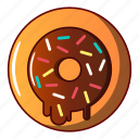 biscuit, bread, cheesecake, cupcake, donut, logo, object