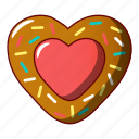 biscuit, cartoon, cheesecake, cookie, jam, logo, object