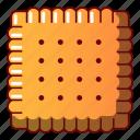 biscuit, bread, cartoon, cheesecake, logo, object, tasty