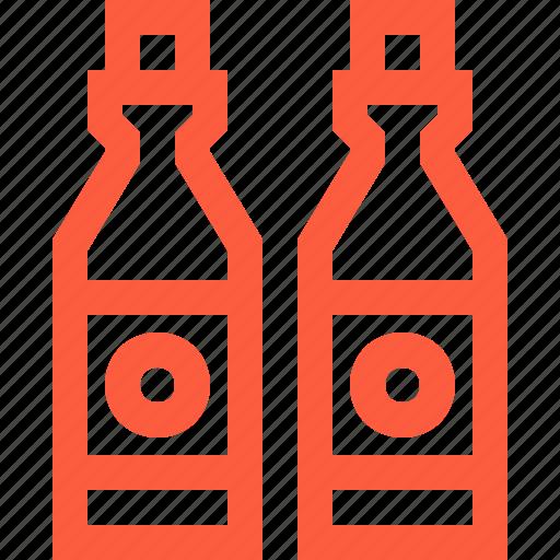 Beer, bottle, drink, glass, lemonade, soda, water icon - Download on Iconfinder