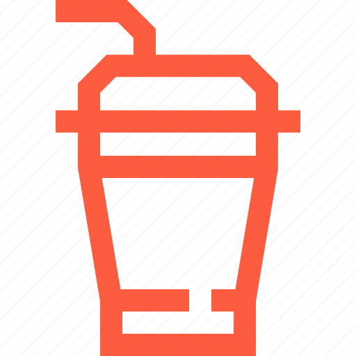 coffe, cup, disposal, drink, milk, milkshake, shake icon