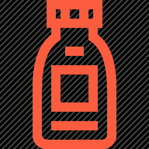 bottle, dip, food, gravy, relish, sauce, topping icon