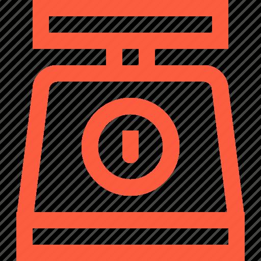 kitchen, mass, scales, utensil, weigher, weight icon