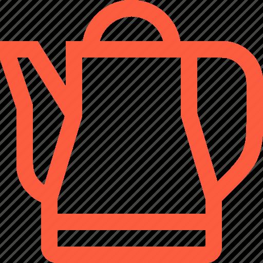 kettle, kitchen, kitchenware, pot, tea, teapot, utensil icon
