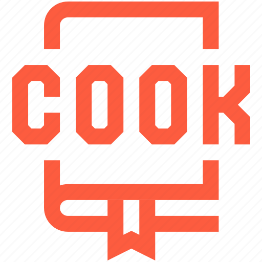 book, cook, cookery, cooking, note, recipe icon