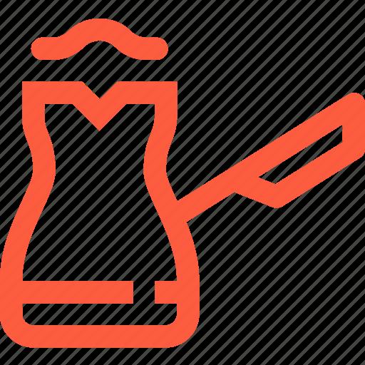 brew, coffee, home, kitchen, turk, utensil icon