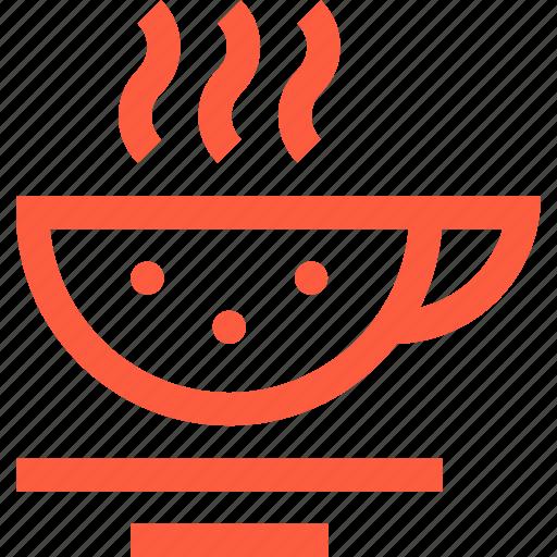 big, cappuchino, coffee, cup, drink, hot, tea icon