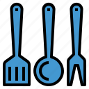 cook, cooking, kitchen, utensils icon