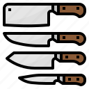cook, cooking, kitchen, knife icon