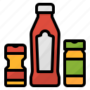 chili, herb, pepper, salt, seasoning, spice icon
