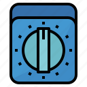 clock, cook, cooking, timer icon