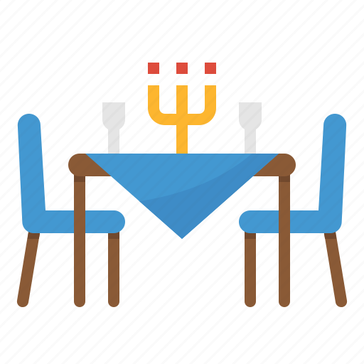Dinner, food, restaurant, table icon - Download on Iconfinder