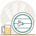 alcohol, beer, brewing, concept, cooking, drink, fermenter icon