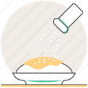 concept, cooking, pepper shaker, salt shaker, seasoning icon