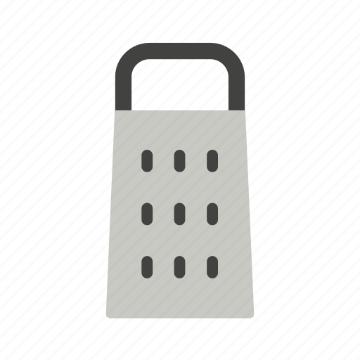 cheese, colour, cooking, grate, grater, kitchen, utensil icon