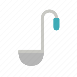 colour, cook, cooking, kitchen, ladle, spoon, utensil icon