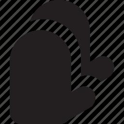 cooking, glove, kitchen, potholder, protection, safe icon