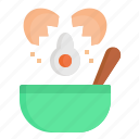 bowl, cooking, egg, food, mixer