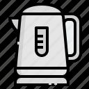 hot, kettle, kitchen, steam, water