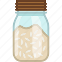 bottle, cooking, food, ingredient, kitchen, rice