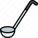 cooking, food, gastronomy, kitchen, ladle, soup, utensil