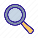 cooking, pot, top, turk, view icon
