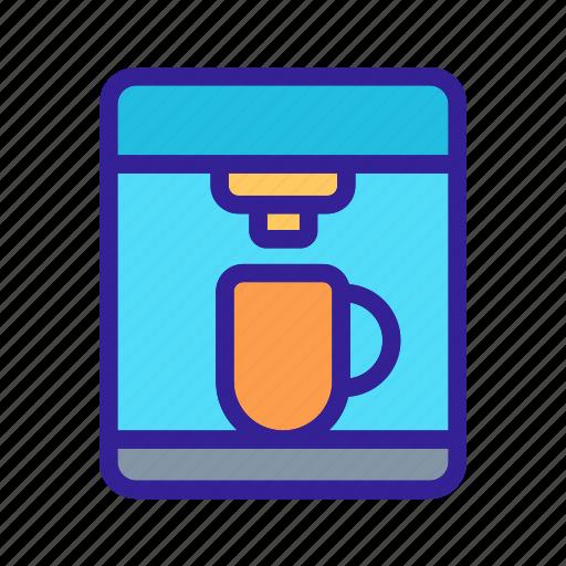 coffee, cooking, equipment, kitchen, machine icon