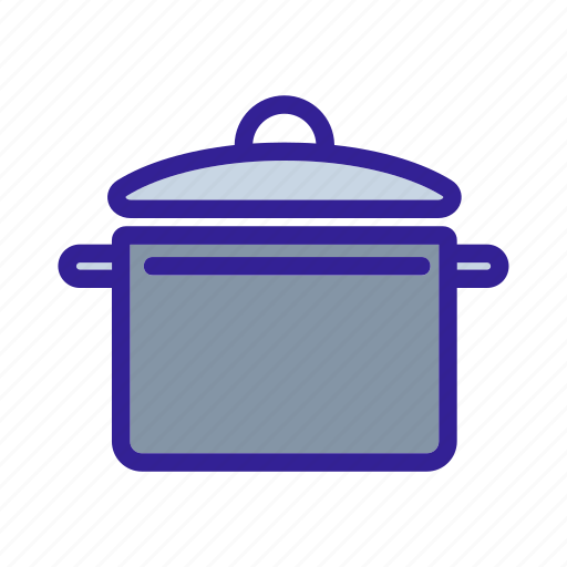 cooking, equipment, food, kitchen, pot icon