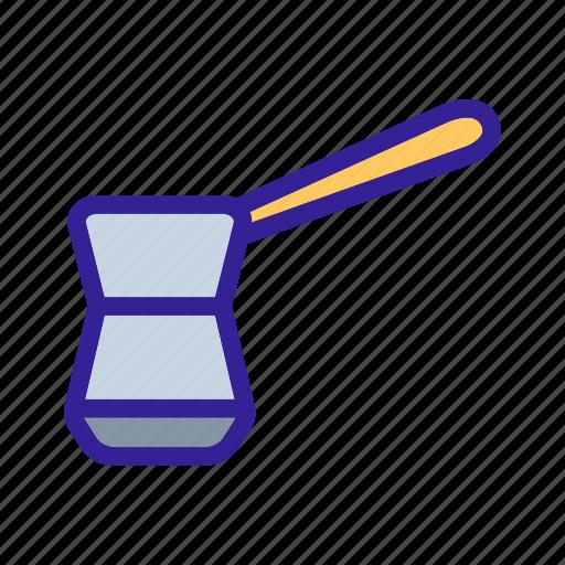 cooking, equipment, item, kitchen, turk icon