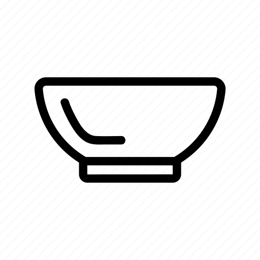 bowl, cooking, equipment, item, kitchen icon