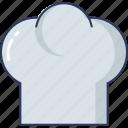 chef, hat, kitchen