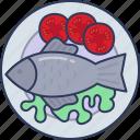 tuna, food, sea, eat, cooking