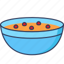 food, soup, bowl
